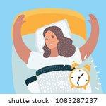 vector cartoon illustration of... | Shutterstock .eps vector #1083287237