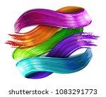 abstract vector paint brush... | Shutterstock .eps vector #1083291773