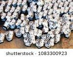 zebra sculpture for faith    Shutterstock . vector #1083300923