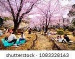 tokyo japan   march 28  2018  ... | Shutterstock . vector #1083328163