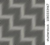 monochrome optical graphic... | Shutterstock .eps vector #1083333467