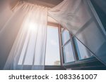 bright morning sun in the open... | Shutterstock . vector #1083361007