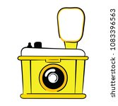 logo of the camera. stylized... | Shutterstock .eps vector #1083396563