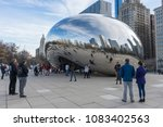 chicago  illinois  usa    april ... | Shutterstock . vector #1083402563