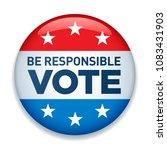 2020 united states of america...   Shutterstock .eps vector #1083431903