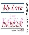 typography slogan  graphic...   Shutterstock .eps vector #1083466643