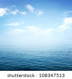 Stock photo blue sea 108347513