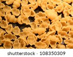 Shell Pasta - stock photo