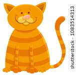 cartoon illustration of cat... | Shutterstock .eps vector #1083514313
