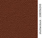seamless vector leather texture ... | Shutterstock .eps vector #108356243