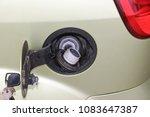 car fuel tank. automobile fuel...   Shutterstock . vector #1083647387