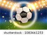football abstract design... | Shutterstock .eps vector #1083661253