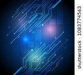 vector modern technology of... | Shutterstock .eps vector #1083774563