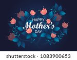 happy mother's day banner.... | Shutterstock .eps vector #1083900653