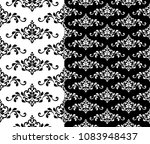 abstract floral decorative... | Shutterstock .eps vector #1083948437