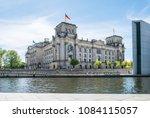 berlin  germany   may  2018  ... | Shutterstock . vector #1084115057
