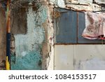 abstract grunge texture old... | Shutterstock . vector #1084153517