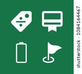 set of 4 tools filled icons... | Shutterstock .eps vector #1084164467