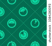seamless pattern with stopwatch ... | Shutterstock .eps vector #1084280093