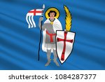 flag of eisenach is a town in... | Shutterstock . vector #1084287377