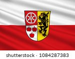 flag of weimarer land is a... | Shutterstock . vector #1084287383