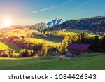 nature and mountains of the... | Shutterstock . vector #1084426343