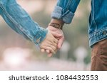 smooth focus valentine couples... | Shutterstock . vector #1084432553