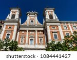 Small photo of Spain, Madrid, Europe, LOW ANGLE VIEW OF BUILDING AGAINST SKY, LOW ANGLE VIEW OF HISTORIC BUILDING AGAINST SKY, LOW ANGLE VIEW OF CLOCK TOWER AGAINST SKY, LOW ANGLE VIEW OF CHURCH AGAINST SKY