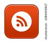 rss vector symbol   Shutterstock .eps vector #1084445837