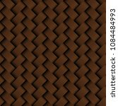 texture brown leather weaving... | Shutterstock .eps vector #1084484993