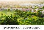 juicy green of golf course...   Shutterstock . vector #1084502093