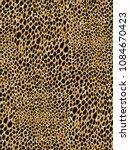 leopard seamless pattern.... | Shutterstock .eps vector #1084670423