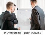 business briefing and goals... | Shutterstock . vector #1084700363