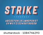 strike trendy inline sports... | Shutterstock .eps vector #1084746293