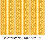 ikat seamless pattern. vector... | Shutterstock .eps vector #1084789703