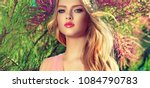 beautiful spring   model girl   ... | Shutterstock . vector #1084790783