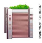 vector icon building | Shutterstock .eps vector #108480887