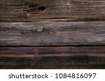 Wooden Background From Old...