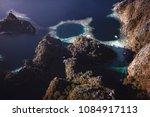 blue hole   twin lagoon coron...   Shutterstock . vector #1084917113