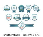 collection of premium quality...   Shutterstock .eps vector #1084917473
