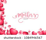 happy mothers day beautiful... | Shutterstock .eps vector #1084946567