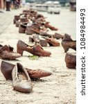 shoes monument on the danube... | Shutterstock . vector #1084984493