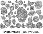 vector illustration. hand... | Shutterstock .eps vector #1084992803
