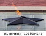 eternal flame on poklonnaya hill | Shutterstock . vector #1085004143