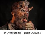 halloween hazard  risk  danger...   Shutterstock . vector #1085005367