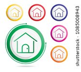 home icon  vector icons  | Shutterstock .eps vector #1085008943