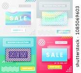 vector design for sale web... | Shutterstock .eps vector #1085069603
