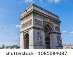 architectural fragment of arc... | Shutterstock . vector #1085084087