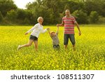 happy family having fun in the... | Shutterstock . vector #108511307