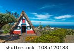 typical houses of madeira    Shutterstock . vector #1085120183